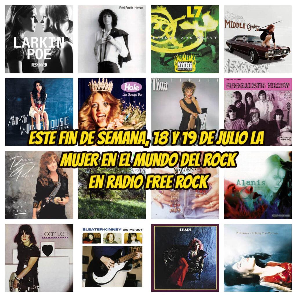 la mujer en la historia del rock radio free rock la gran travesia