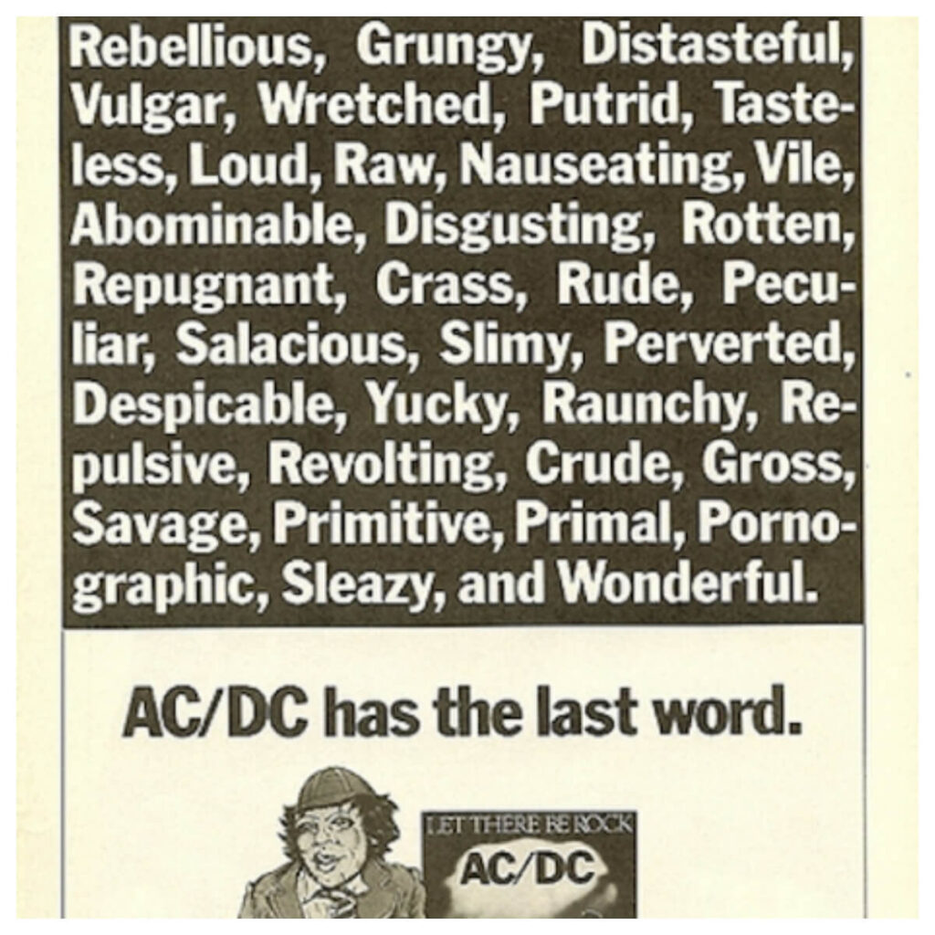 acdc let there be rock the last word radio free rock la gran travesia