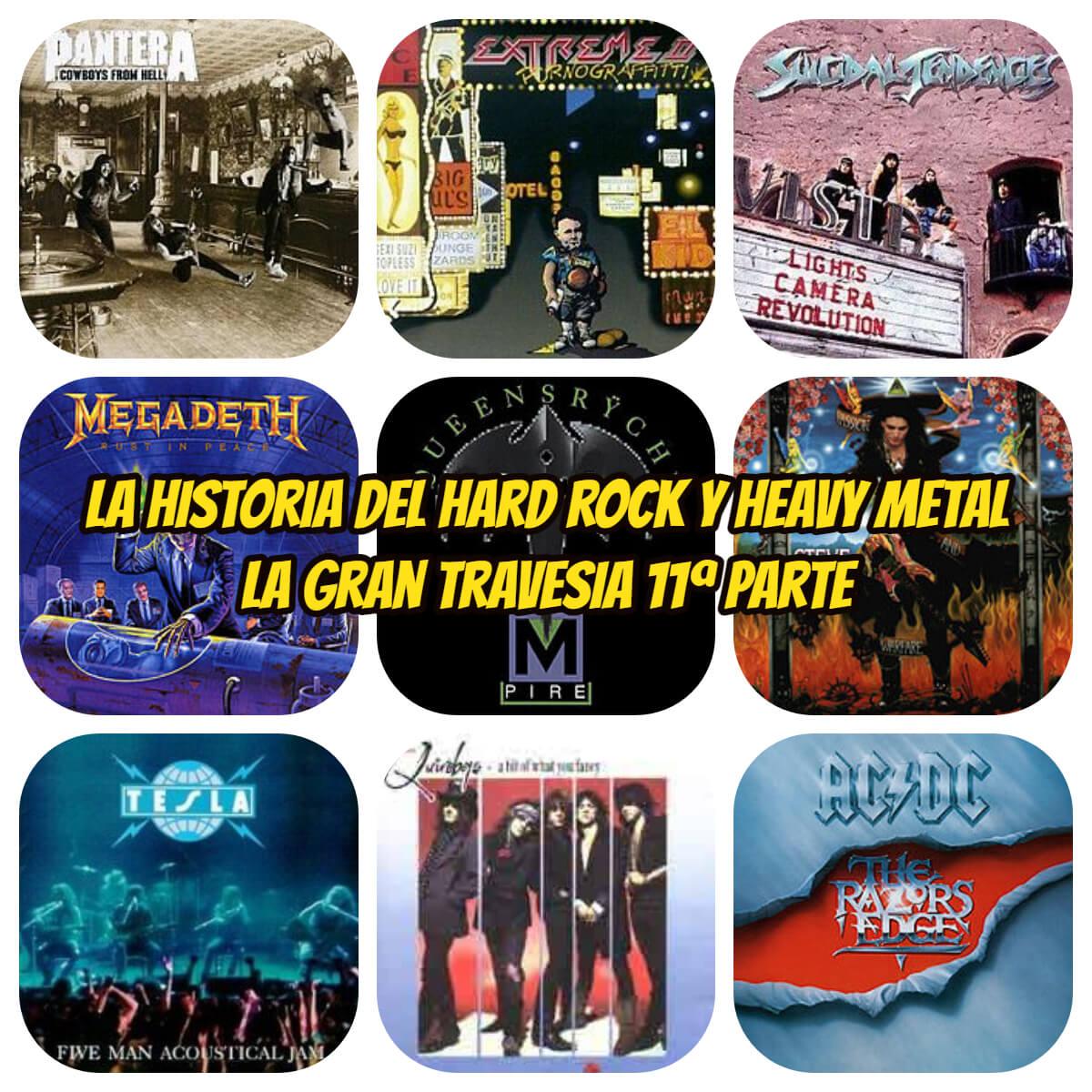 la historia del hard rock y heavy metal 1990 la gran travesia radio free rock